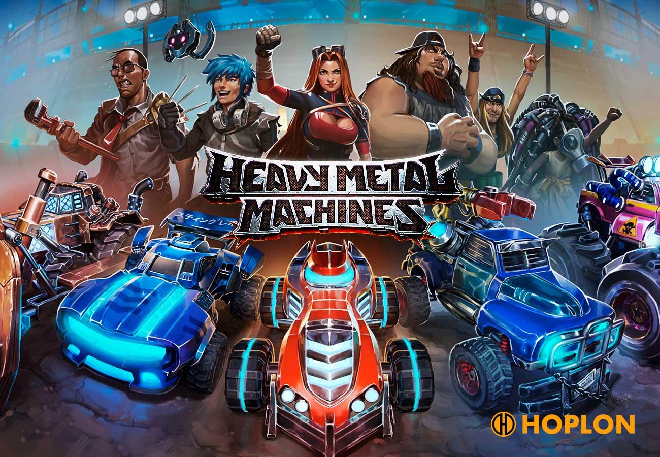 Um jogo com batalhas de carros cheias de estratégia e adrenalina